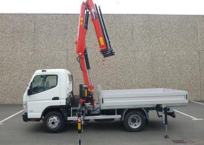 hydraulic-crane hidrauliskais celtnis HC Industrie Riga